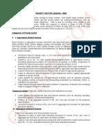 CAIIB - priority Sector Lending