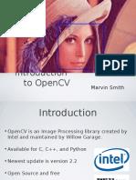 Intro OpenCV