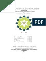 Anggaran Statis Dan Anggaran Fleksibel