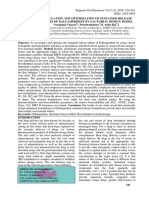 FORMULATION AND OPTIMIZATION OF SUSTAINED RELEASE TABLETS OF DALFAMPRIDINE BY FACTORIAL DESIGN MODEL