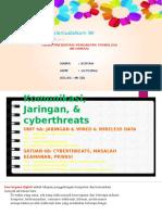 Komunikasi, Jaringan, & cyberthreats