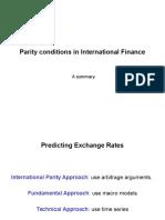 International Parity