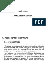 UAP Instalaciones Sanitarias CAPÍTULO VII