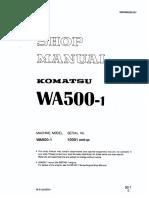 WA500-1 10001-Up