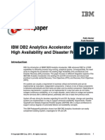 IBM DB2 Analytics Accelerator- High Availability and Disaster Recovery