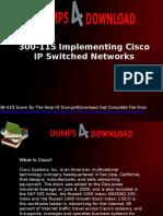 300-115 Cisco Exam Questions & Answers - Dumps4download.us