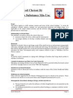 substance mis-use