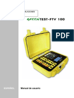 Greentest Ftv100 Español