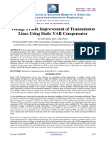 Simulation Model of SVC Based Voltage Regulator