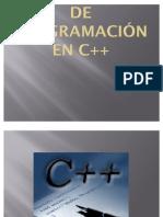 Manual Básico de Programacion en C++