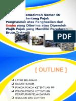 Sosialisasi Internal PP-46 Tahun 2013