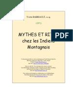 Mythes Rites Indiens Montagnais