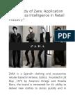 Case Study of Zara