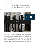 Case Study of Zara
