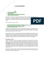 Groundwater Facts Sheet