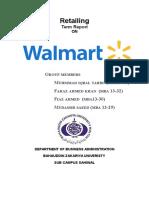 WalMart Retailing Report