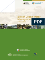 Better Urban Water Management