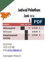 Jadwal Pelatihan Klinis Primkop-IDI Bulan Juni 2014