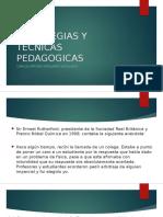 Estrategias y Tecnicas Pedagogicas