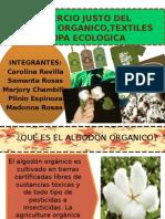 Comercio Justo Del Algodón Organico,Textiles y Ropa Ecologica