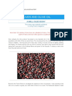 Olive Oil Essay -2