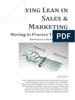 Applying Lean in Sales and Marketing 2015.2