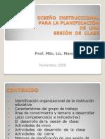 GUÍA  DE  DISEÑO  INSTRUCCIONAL DE UNA SESIÓN DE  CLASE
