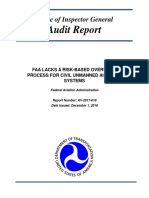 FAA Oversight of UAS - Final Report 12-01-16