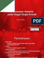 Anemia Pada Gagal Ginjal Kronik