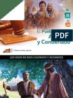Lección 24 - El Pueblo de Dios Acusado y Condenado