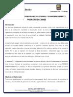Compendio de Temarios Del Diplomado en Ingeniería Estructural
