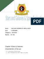 Folio Star and Galaxy Form 3