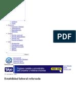 Estabilidad Laboral Reforzada _ Gerencie