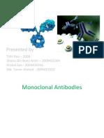 MONOCLONAL + NANOBIIOTECH (PRESENT FUTURE)