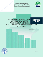 IV Censo Nacional Agropecuario Tomo II