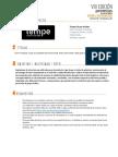 Ficha de Proyecto TEMPE Grupo Inditex