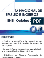 Encuesta Nacional de Egresos e Ingresos -ENEI 2010-