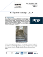 8 Steps to Becoming a CBAP