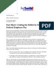 Federal Pay Freeze (November 2010)