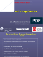 52 Novos Anticoagulantes