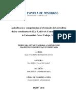 Autoeficacia y competencias profesionales del periodista (Rider Bendezú)
