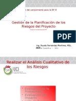 Gestión de La Planificación de Los Riesgos Del Proyecto - Tema 04 (1)