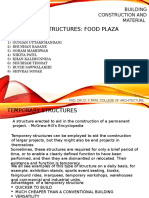 Temporary Structure (Food Plaza)