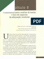 8. Fundamentos Para Análise de Textos...