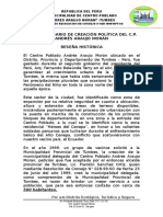 Reseña Histórica C.P. AAM