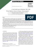 2003 Ped Inj Vehicle Type Study