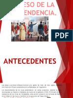 Diapos Historia Proceso de La Independencia