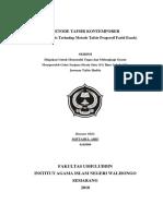 METODE TAFSIR KONTEMPORER (Studi Analisis Terhadap Metode Tafsir Progresif Farid Esack)