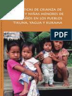 Practicas de Crianza en Ninos Menores de 3 Años Indigenas