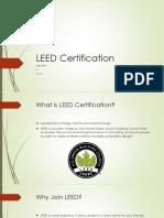 leed certification powerpoint